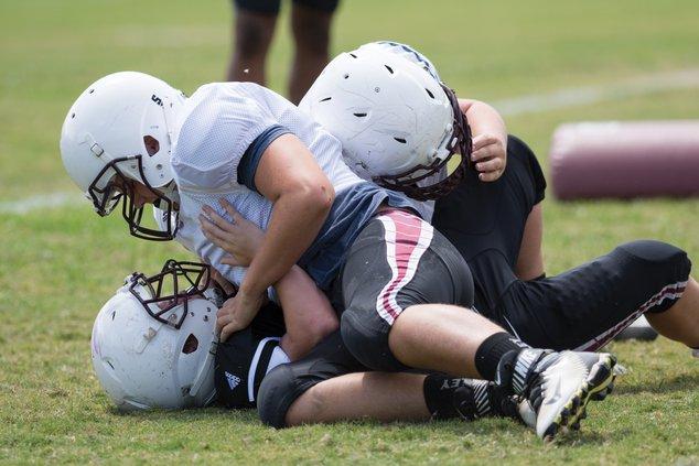 Chestatee Football practice