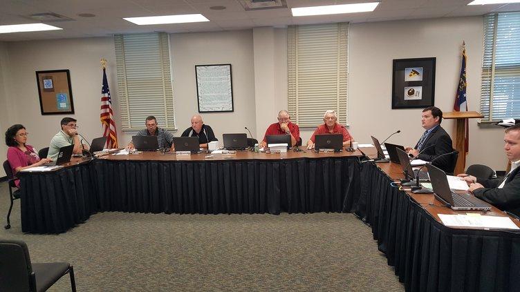 Hall school board