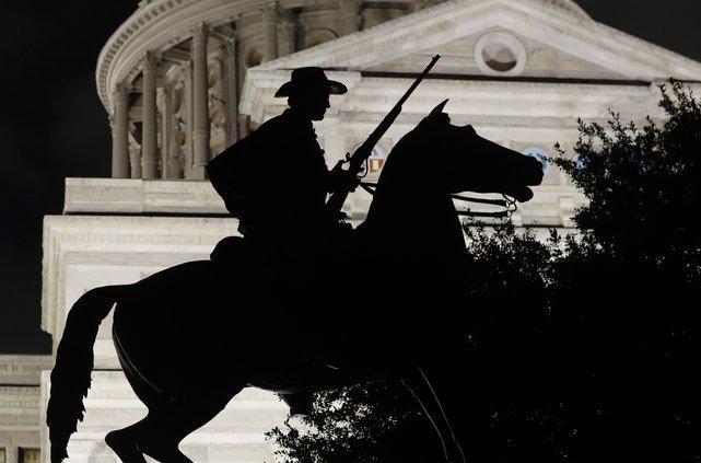 Confederate monument Texas