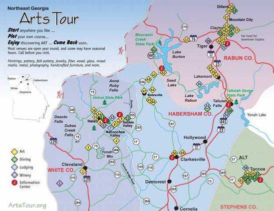 0618ArtsTour-MAP