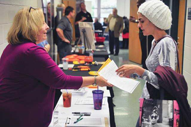 Lanier Tech Career Fair Brings Applicants In Droves Gainesville Times