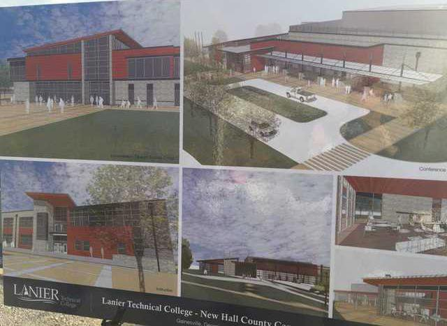 New Lanier Tech Campus On Budget And On Time For 2019 Opening Gainesville Times