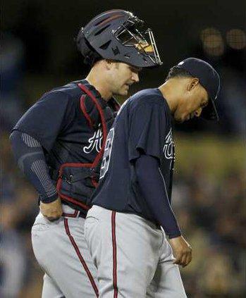 Braves Dodgers Baseba Albe