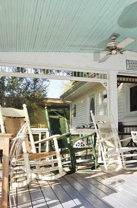 Painting A Positive Porch Gainesville Times