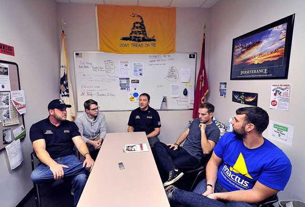 Younger Veterans Discuss War Experience Transition To Home Life Gainesville Times