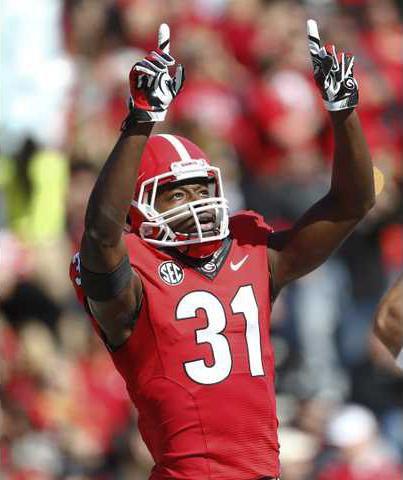 Chris Conley Georgia Bulldogs Football Jersey Red