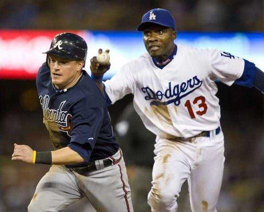 Braves Dodgers2 Baseba Albe