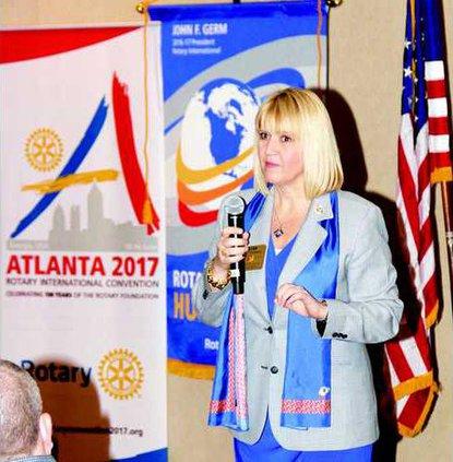 Kim Waters Rotary Gov