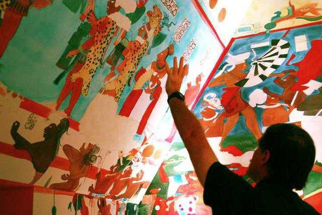 Maya Doomsday Exhibit boae