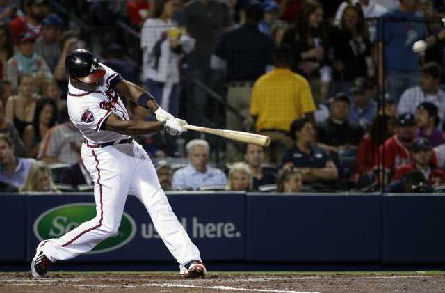 Mets Braves Baseball Hoop