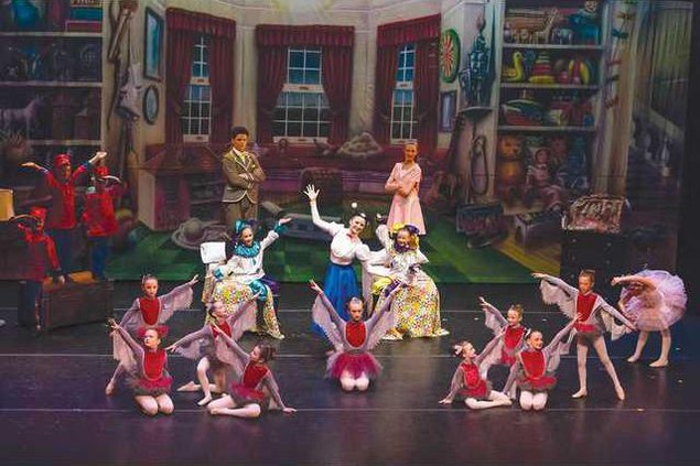 Mary Pops Into Gainesville For Ballet Performance Gainesville Times