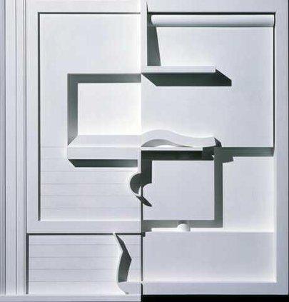 0514Architecture-White Composition II 1996