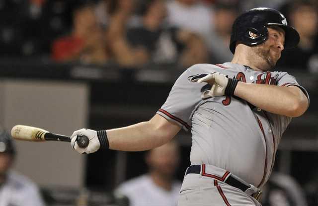Braves White Sox Base Hoop