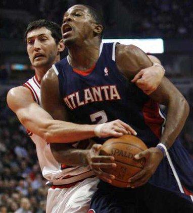 Hawks Bulls Basketbal Holl