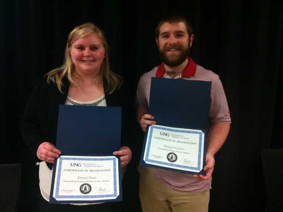 UNG Poultry scholarships Hunt Garrett