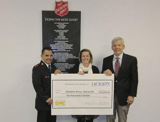 Jackson EMC Foundation donation