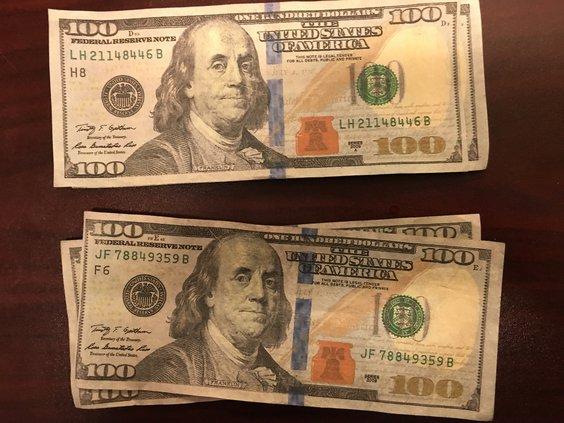 01252018 Counterfeit bills
