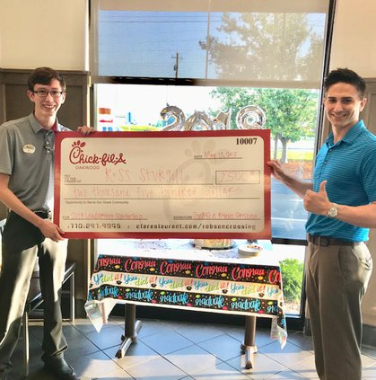 06122018 COMMUNITY Chick fil A scholarship