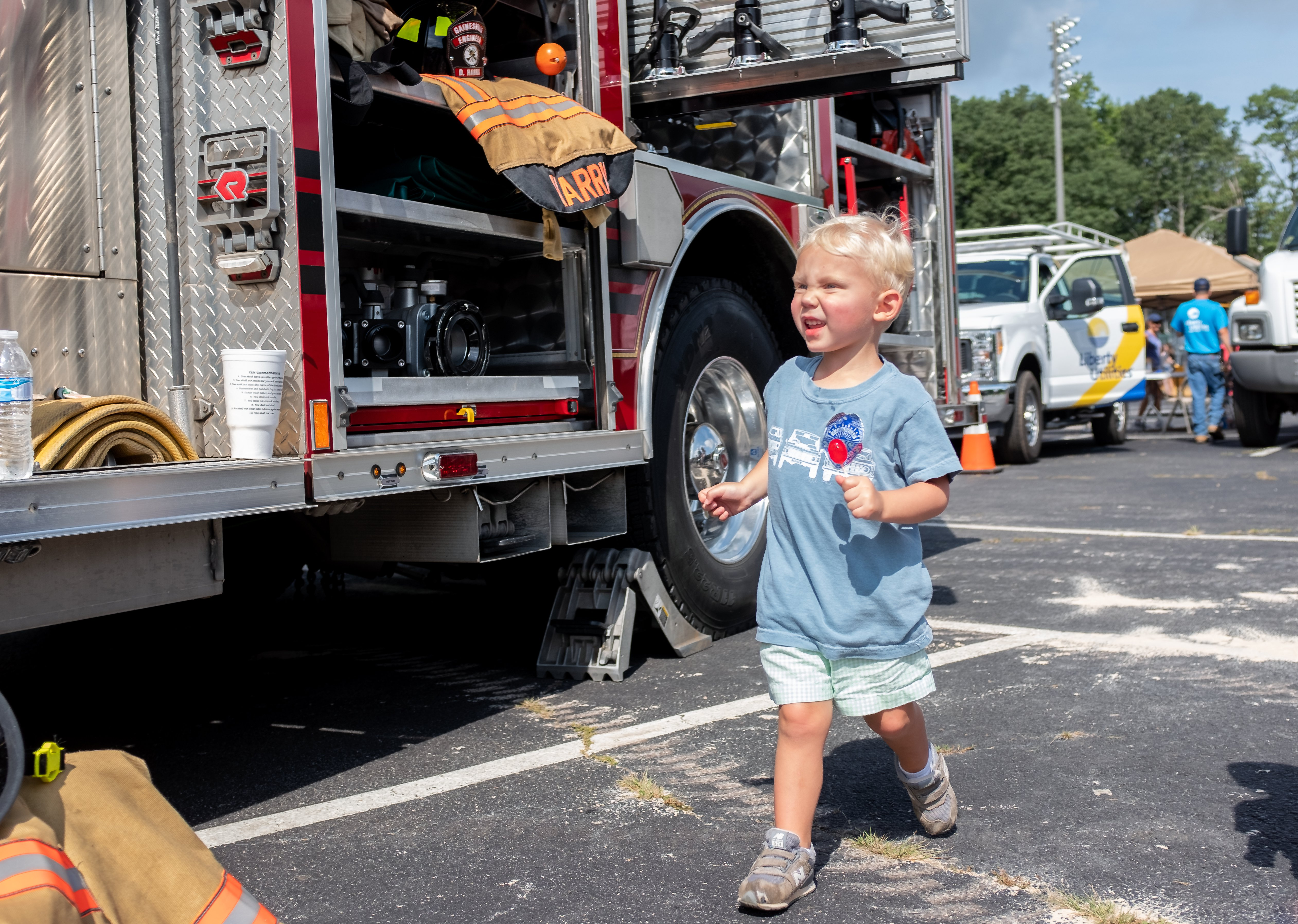 Touch a Truck: Where's the fire?