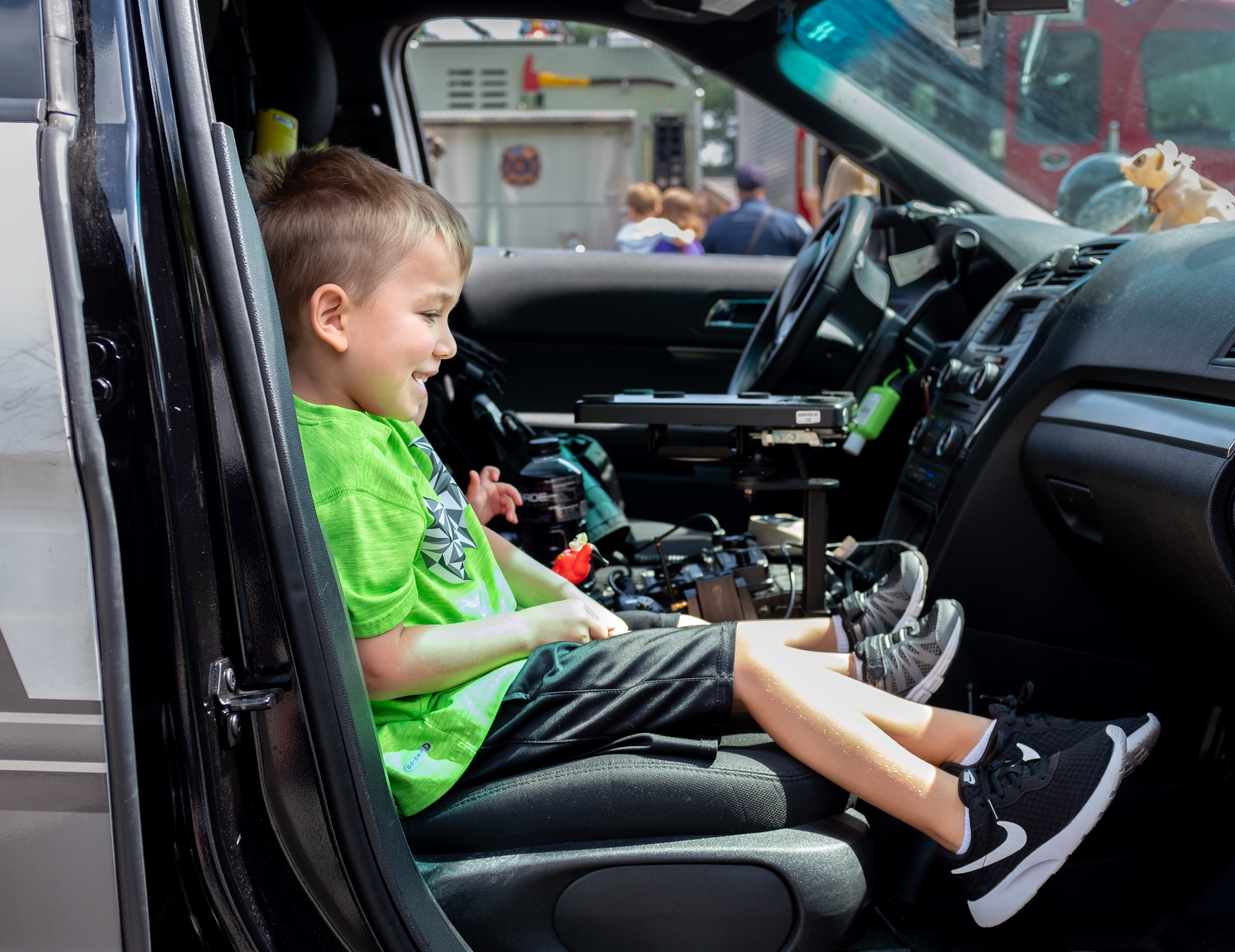 Touch a Truck: Patroling a crusier