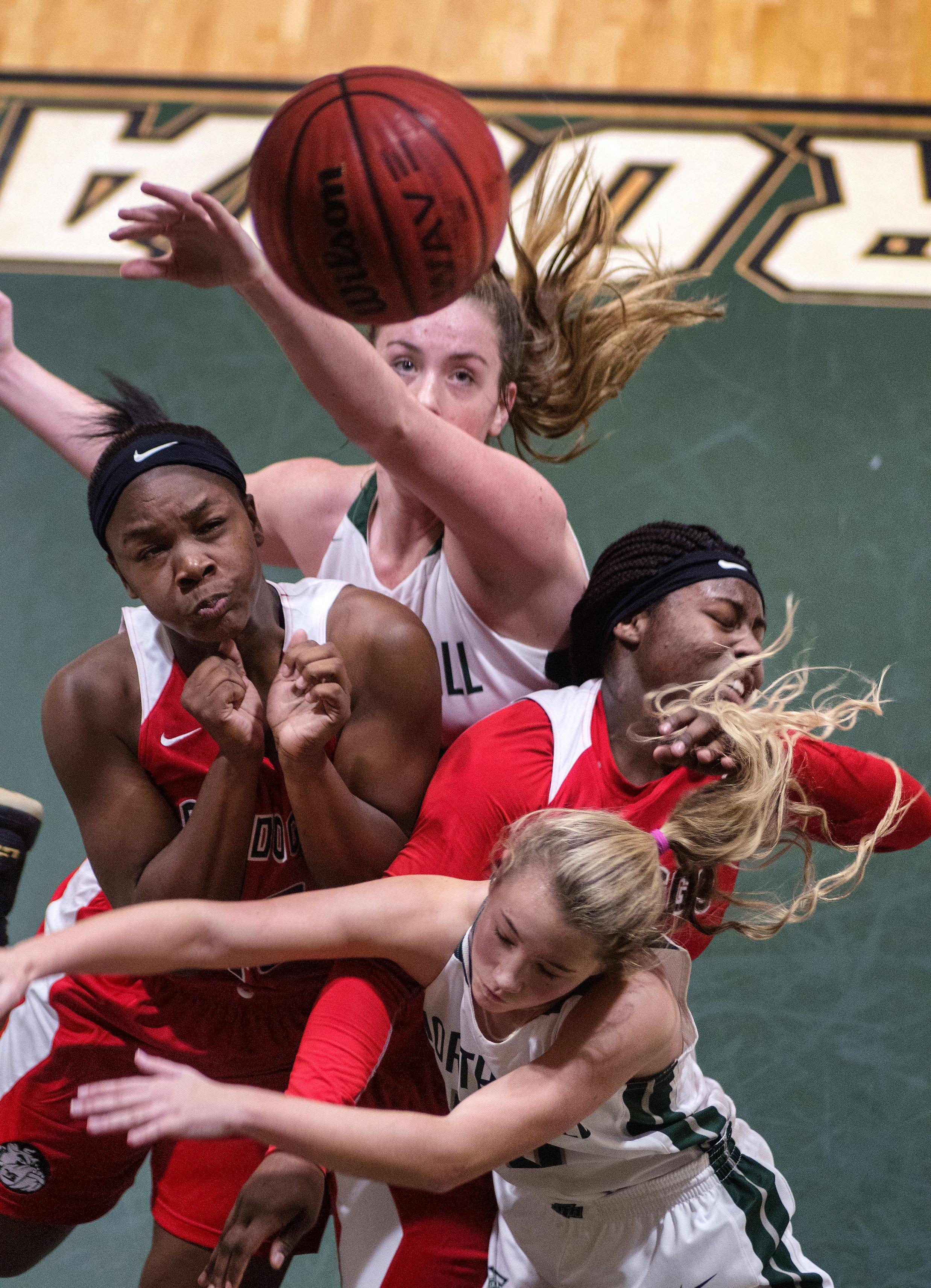 North Hall basketball