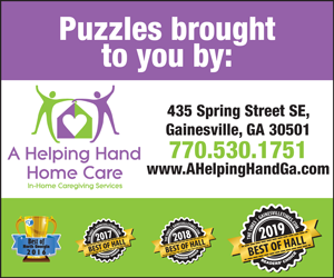 78805 A Helping Hand puzzles sponsorship