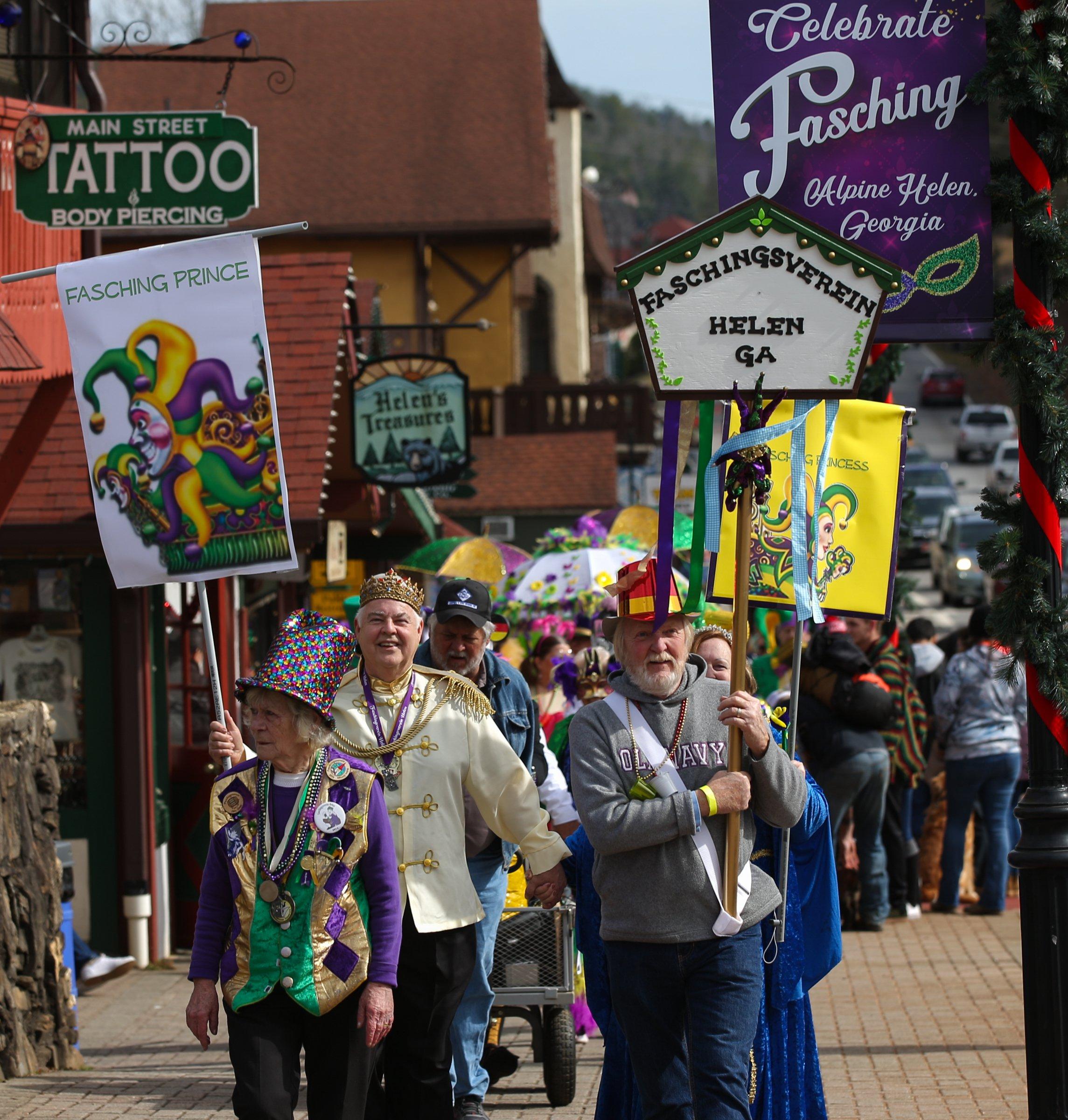 Fasching parade