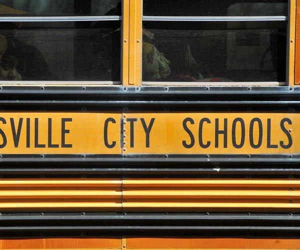 Gainesville school bus