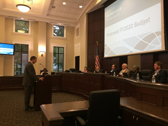 Gainesville City Council Budget Meeting