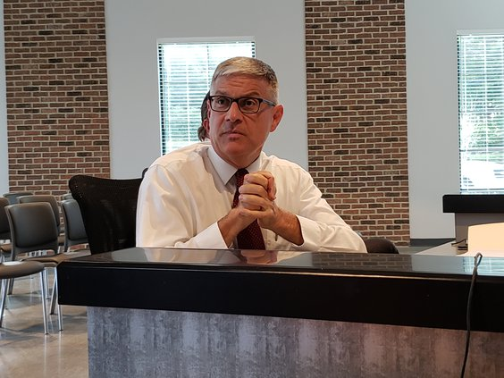 Flowery Branch  City Manager Bill Andrew