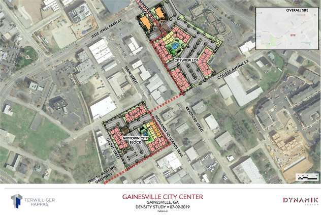 Midtown development map