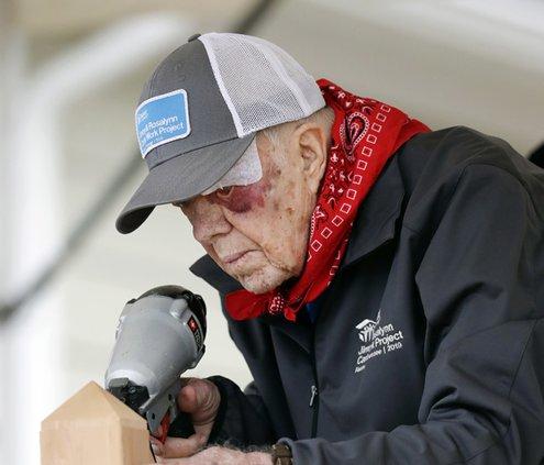Jimmy Carter bandage.jpg