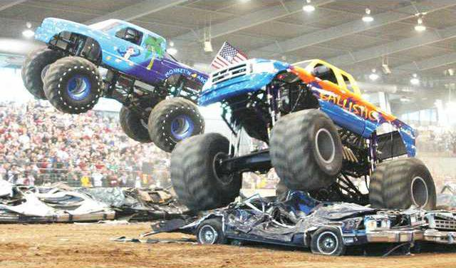 2020 Monster Truck Show Flying Into Gainesville Gainesville Times