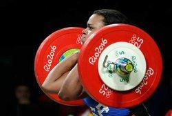 0813Rio-Olympics-Weightli Albe