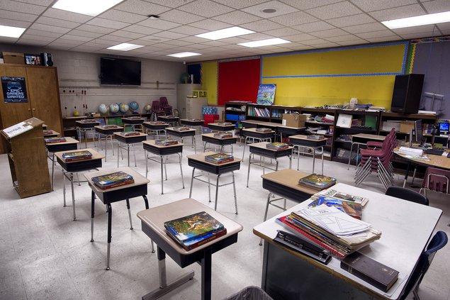 Riverbend classroom spring 2020