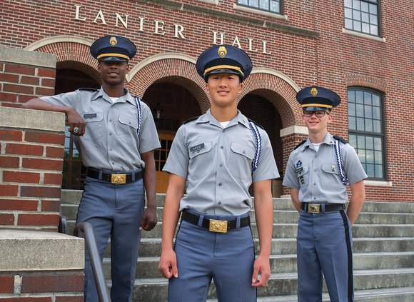 Riverside Military Academy cadets