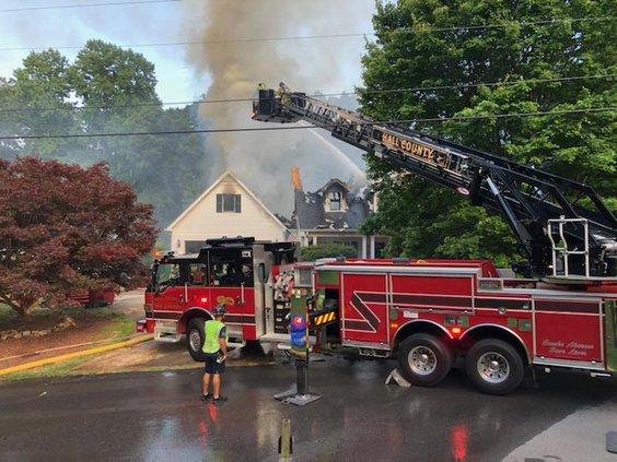 South Hall fire 2