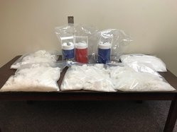 67-pound meth seizure in North Hall