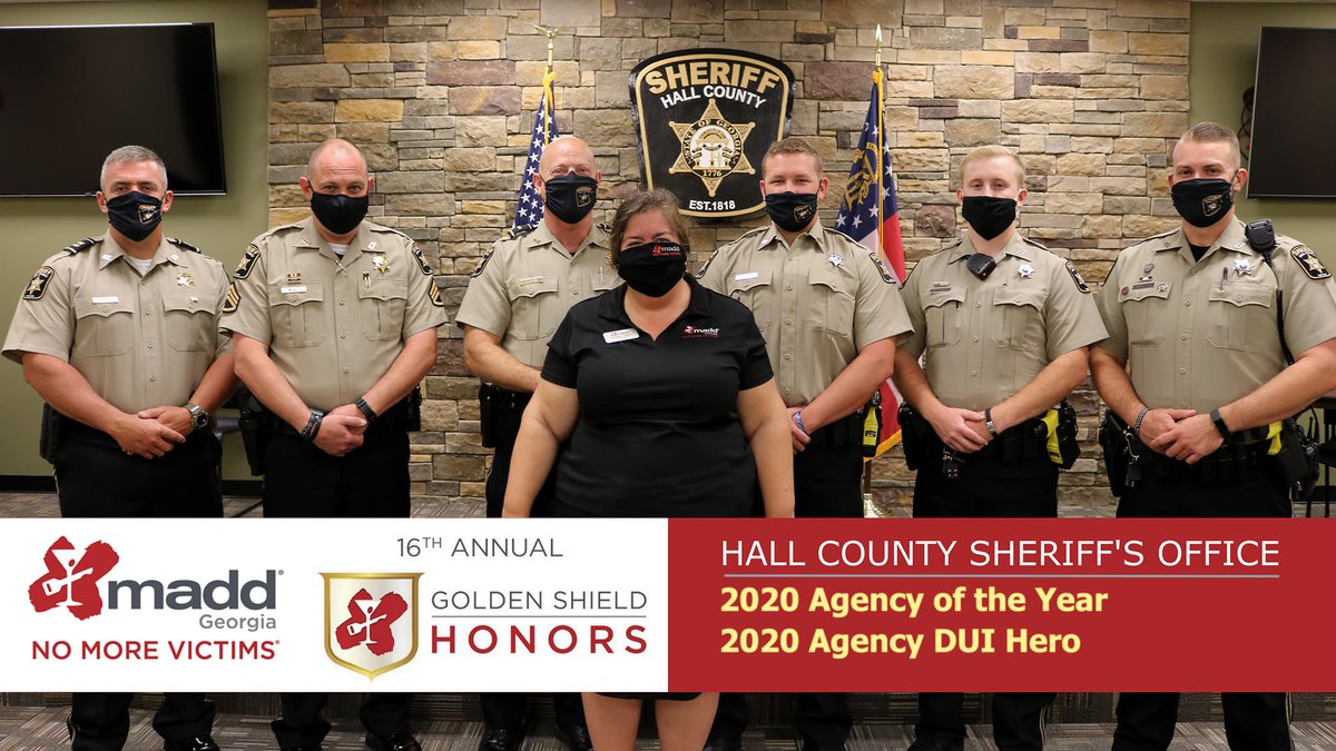 Hall Sheriff U2019s Office Recognized For DUI Enforcement