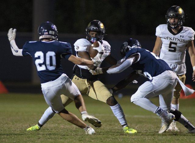 High school football: Junior quarterback Cooper sharp for East Hall in 41-3 win against Johnson