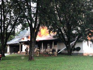 Ellison Farm Road fire