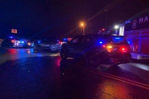 Crash on Athens Street