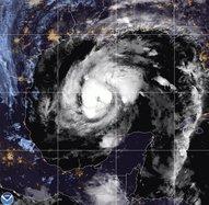 Hurricane Zeta - AP
