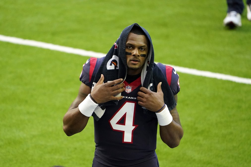 Deshaun Watson requests trade out of Houston - Gainesville Times