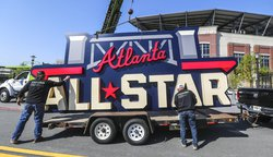 All-Star Game sign