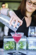 Cocktail alcohol stock photo