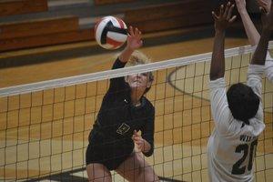 North Hall volleyball 2021