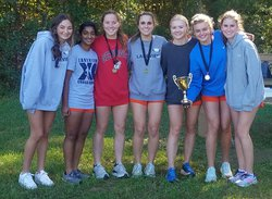 Lakeview Academy girls cross country